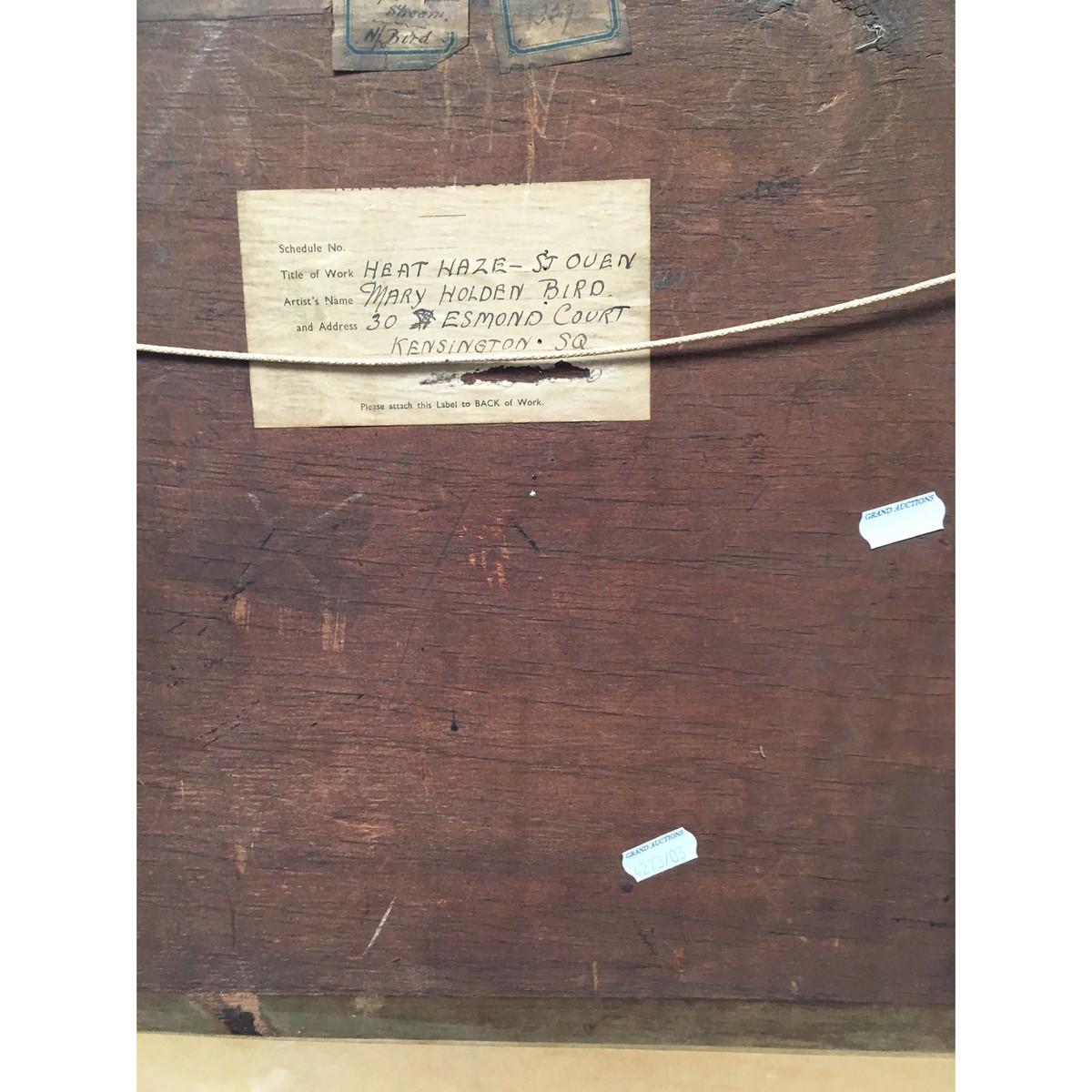 Lot 20 - Bird, Mary Holden 1900-1978 British AR, Heat Haze, St Oven.
