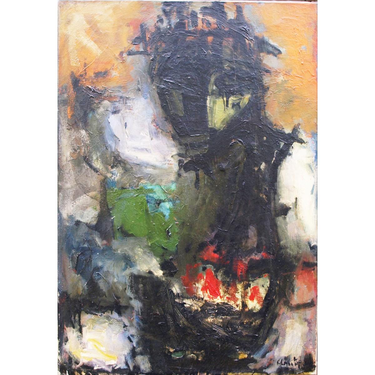 Lot 11 - Christophorou, John 1921-2014 French/Greek AR, Figure