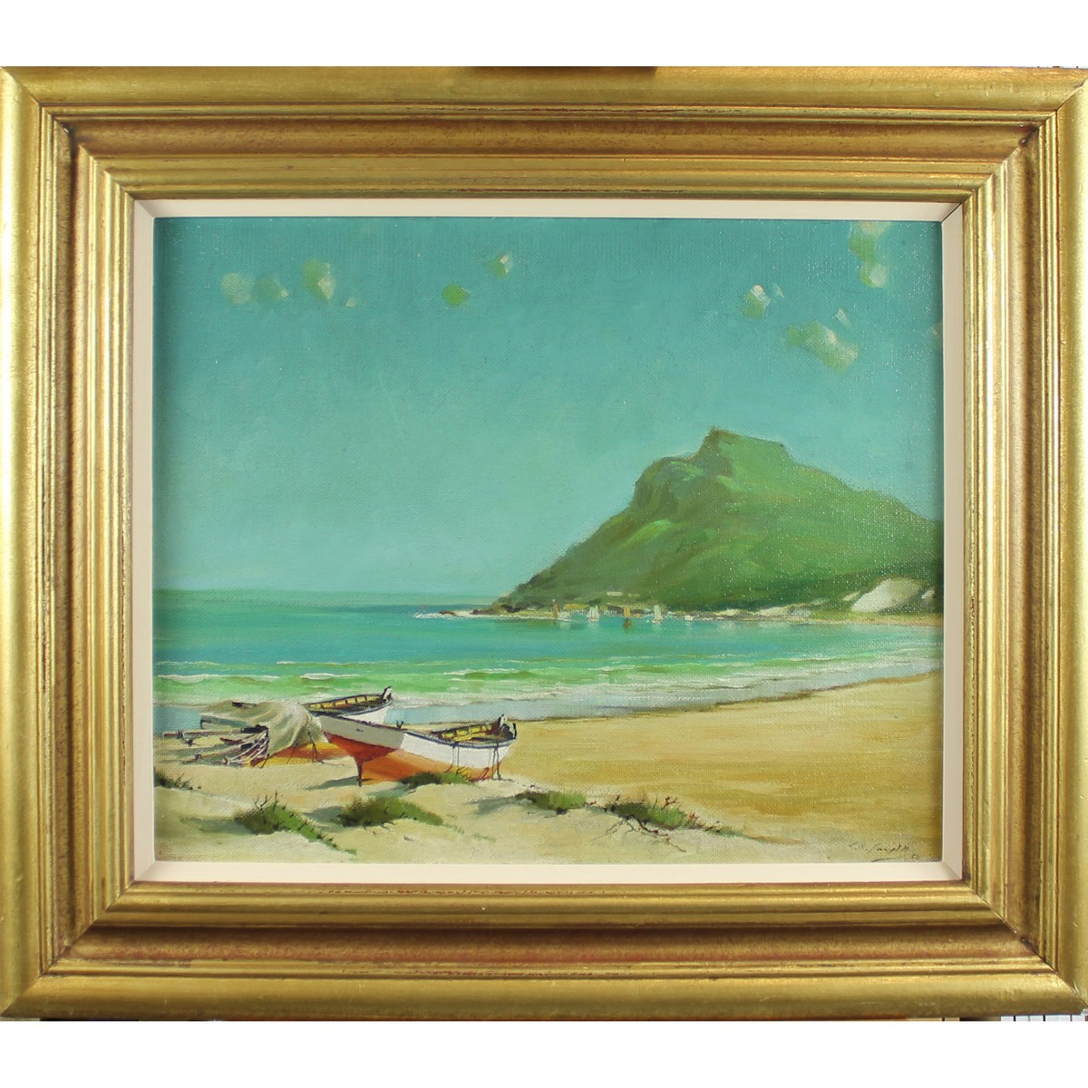 Lot 40 - Campbell, George In the style of 1917-1979 Irish AR, Spanish Beach