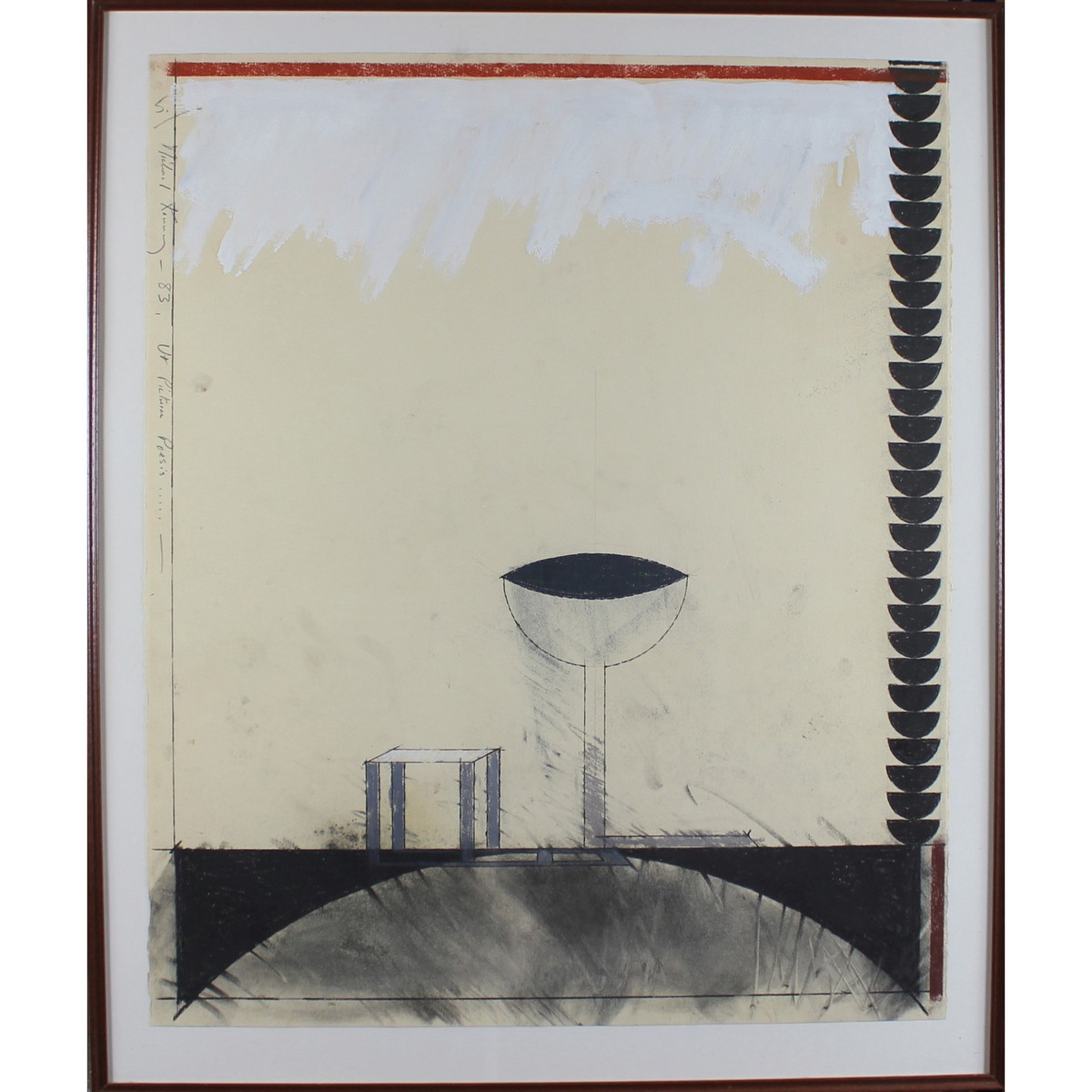 Lot 41 - Kenny, Michael 1941-2000 British AR, Ut Pictura Poesis (Paintings are poetry).