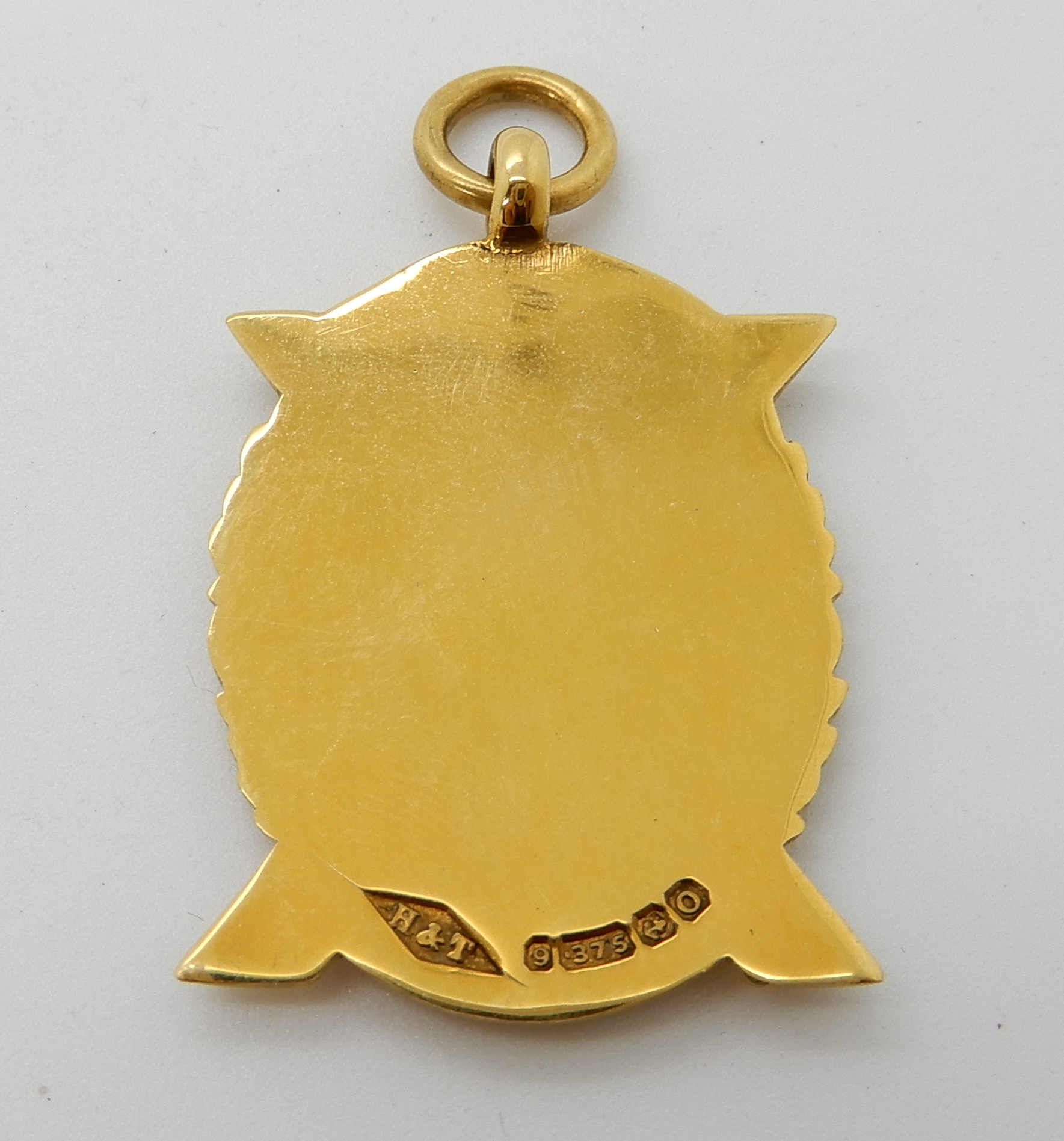 Lot 58 - A 9ct gold Scottish medallion, weight 7.6gms Condition Report: Available upon request