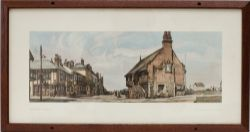 Carriage Print ALDEBURGH, SUFFOLK by Fred Baldwin from the LNER Post-War Series, around 1948. A