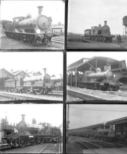Approximately 52 large format, mainly glass, some non-glass negatives. Most are LSWR but there are a