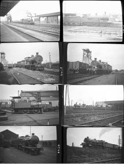 Approximately 51 medium format negatives. A mixture of SR, FR, LMS, LNWR, LSWR, LBSC, SE&CR with
