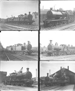 Approximately 51 large format glass negatives. All Somerset & Dorset Rly taken in 1930. Negative