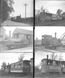 Qty 10 large format glass negatives. All Wantage Tramway taken in 1930. Negative numbers within