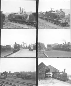 Approximately 53 large format glass negatives. Mostly LNER with some LMS taken in 1935/36.