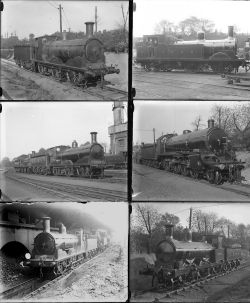 Approximately 50 large format, mainly glass, some non-glass negatives. Almost all are LSWR with a