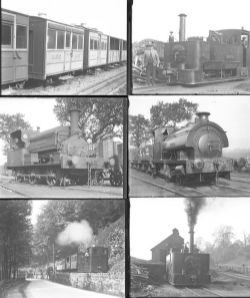 Qty 18 of which 13 are large format glass and 5 medium format non-glass negatives Glyn Valley Rly