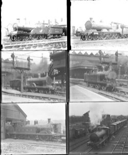 Approximately 53 large format, mainly glass, some non-glass negatives. A mixture of LNER, L&YR, LMS,