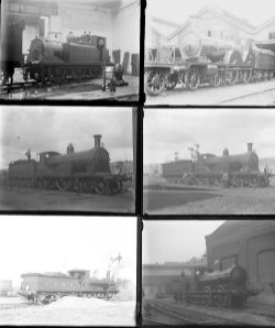 Approximately 50 large format, mainly glass, some non-glass negatives. All are LSWR taken in 1923/