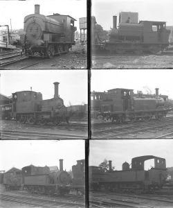 Qty 10 large format glass negatives. All Weston Clevedon & Portishead Rly taken in 1929. Negative