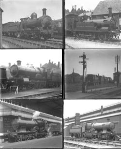 Approximately 34 large format glass negatives. All GWR taken in 1929. Negative numbers within range: