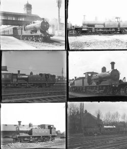 Approximately 53 large format, mainly glass, some non-glass negatives. Almost all are LSWR with