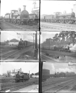 Approximately 54 large format, mainly glass negatives. A mix of LSWR and LBSCR taken in 1921.