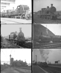 Approximately 51 large format glass negatives. A mixture of SE&CR, SR and LBSCR taken in 1927/28.