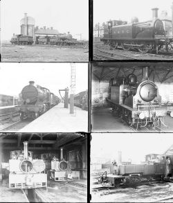 Approximately 52 large format, mainly glass, some non-glass negatives. A mixture of LBSCR, SR and