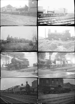 Approximately 47 medium format negatives. Mix of LSWR, SECR and LBSCR taken in May 1920. Negative