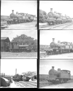 Qty 12 large format glass negatives East Kent Rly taken in 1936. Negative numbers within range: