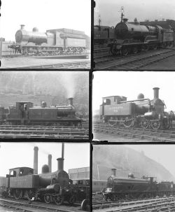 Approximately 51 large format, mainly glass, some non-glass negatives. A mixture of LNER,