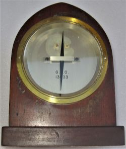 GPO wooden cased Galvanometer as used with telegraph instruments both railway and commercial use.