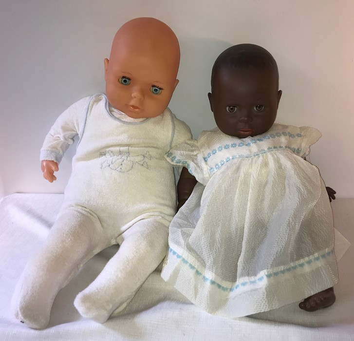 Lot 58 - Two EFFE Italian baby dolls. 53cms approx.
