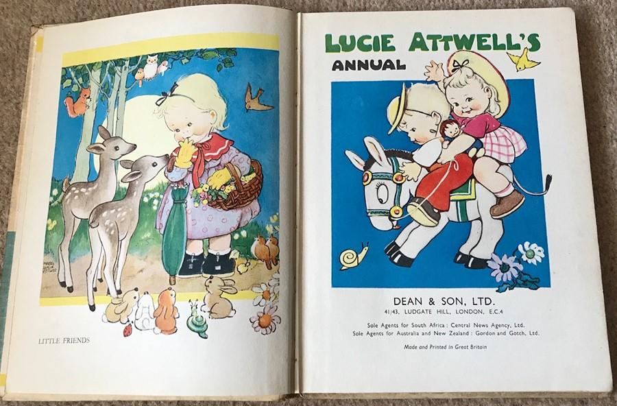 Lot 52 - Vintage Lucie Attwells Anuual.