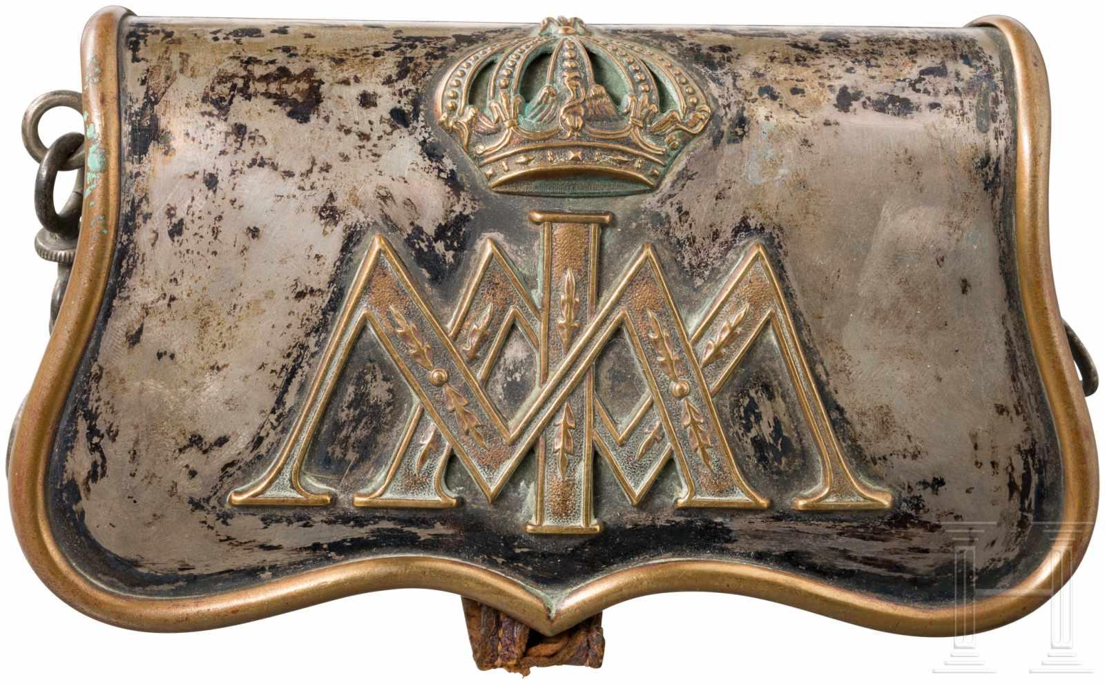 Lot 4174 - Kartuschkasten in Offiziersausführung der Palastgarde unter Kaiser Maximilian I. von Mexiko,