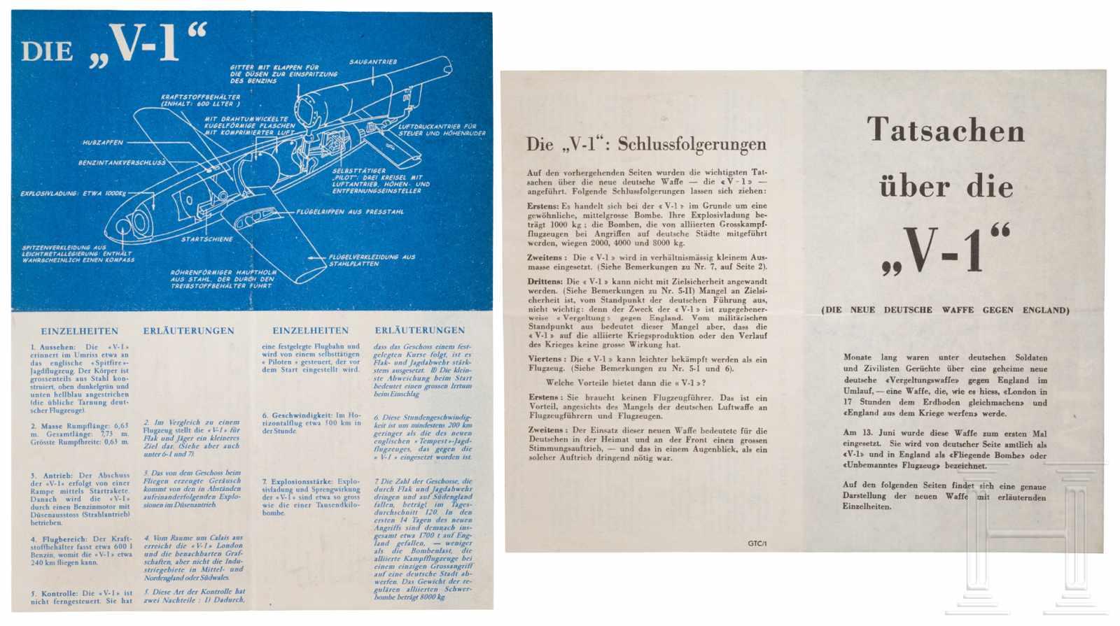 """Lot 5981 - Kreiselkompass für eine Fieseler Fi 103, den Marschflugkörper """"V1""""Zweiteiliges, kugelförmiges"""