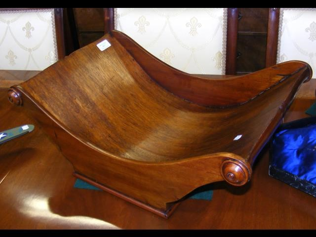 Lot 451 - An antique style mahogany table cheese coaster - 5