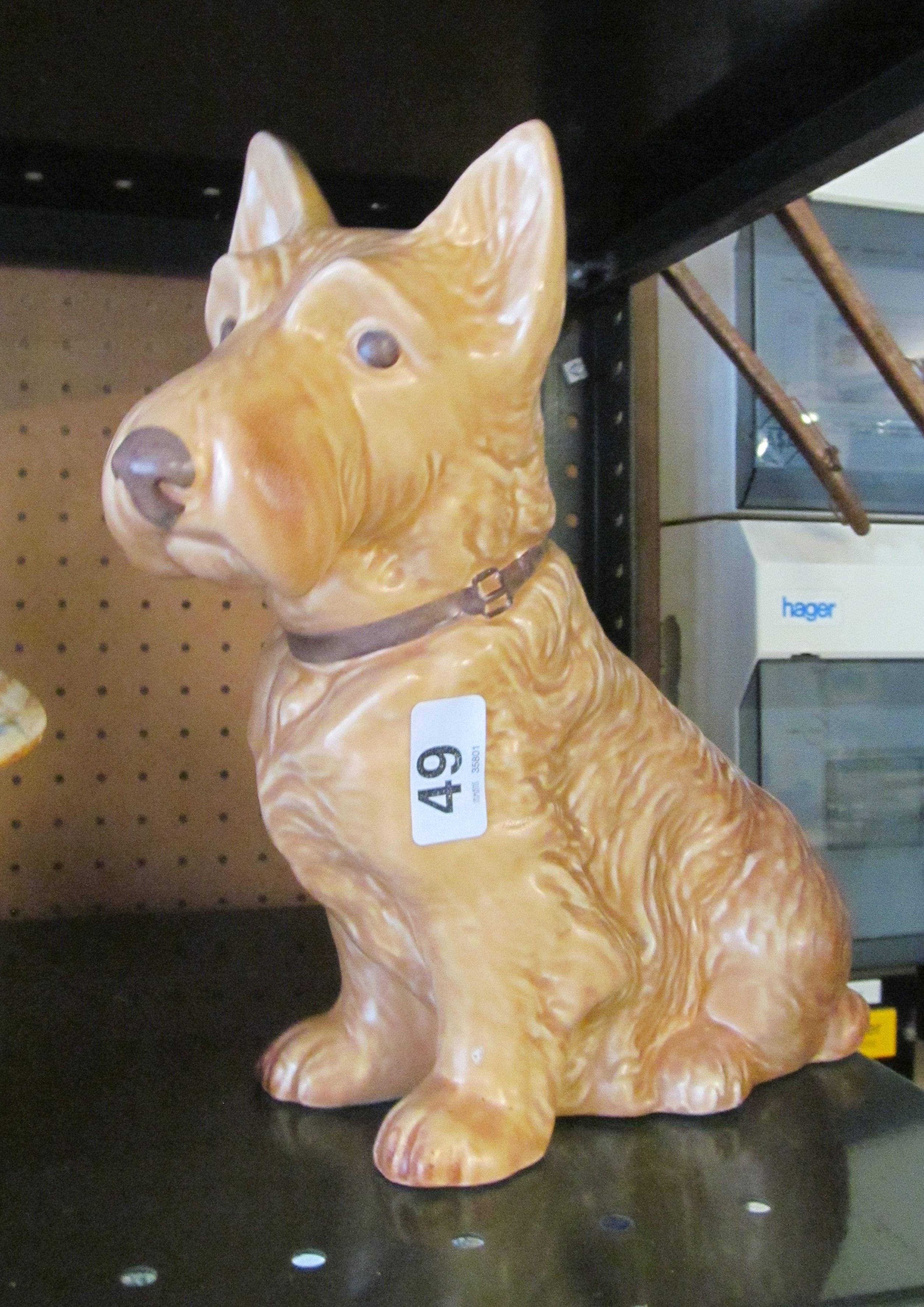 Lot 49 - A large brown SylvaC dog