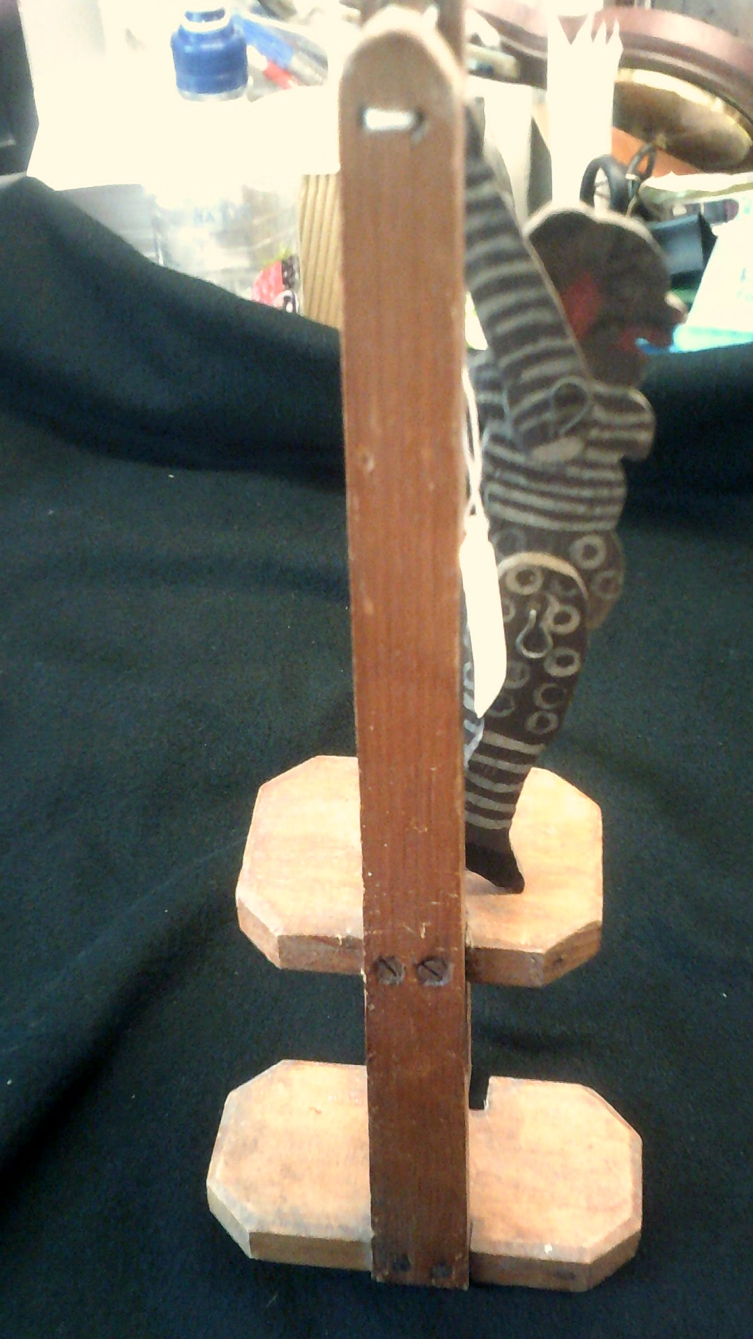 Lot 393 - Vintage Wooden Toy-Acrobat toy, works well, lots of pleasure