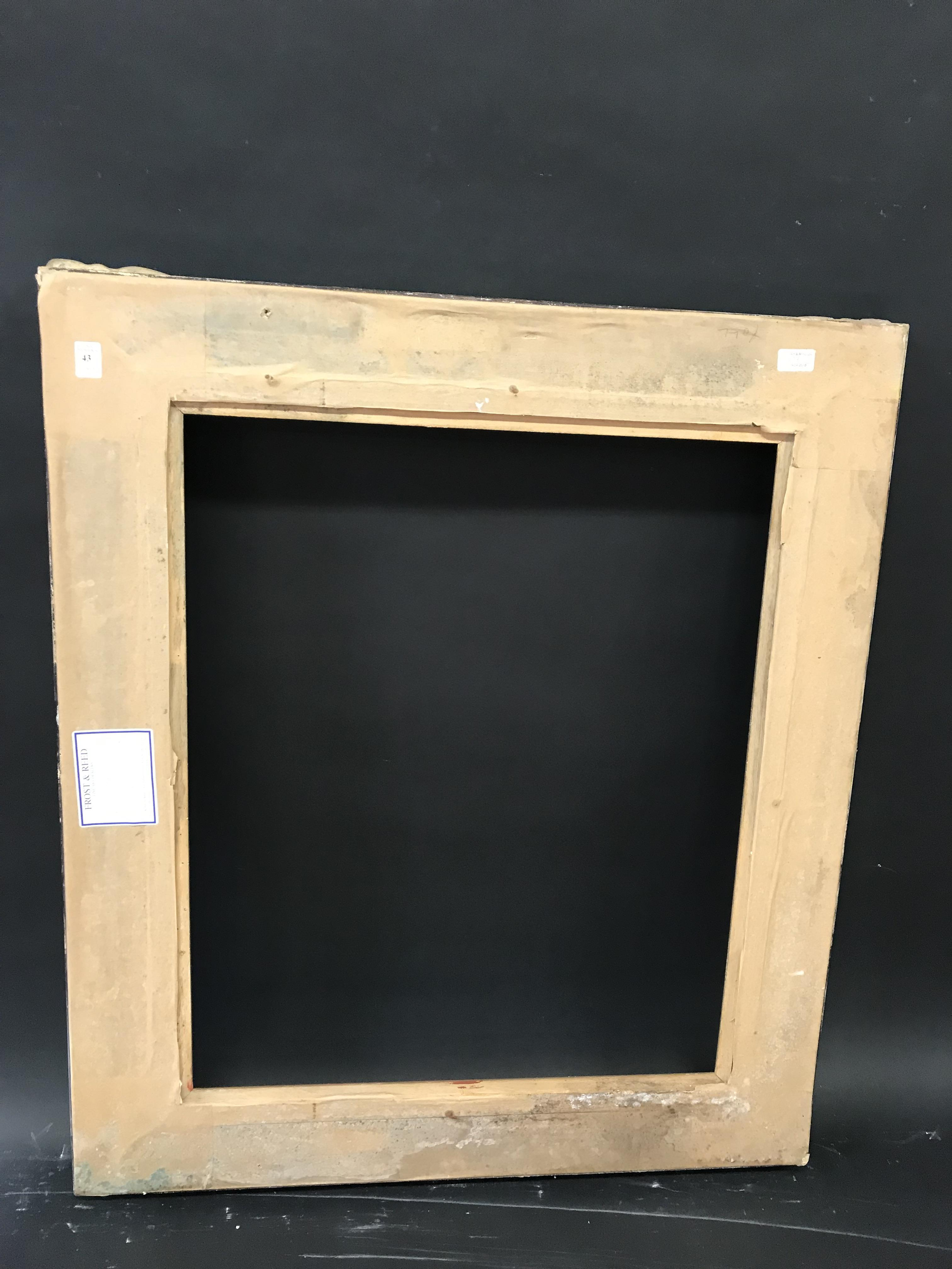 Lot 43 - 20th Century English School. A Painted Composition Frame, with Swept Centres and Corners, and a