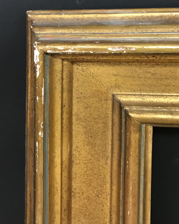 "Lot 28 - 19th Century European School. A Gilt Composition Frame, 27.5"" x 23"" (rebate)."