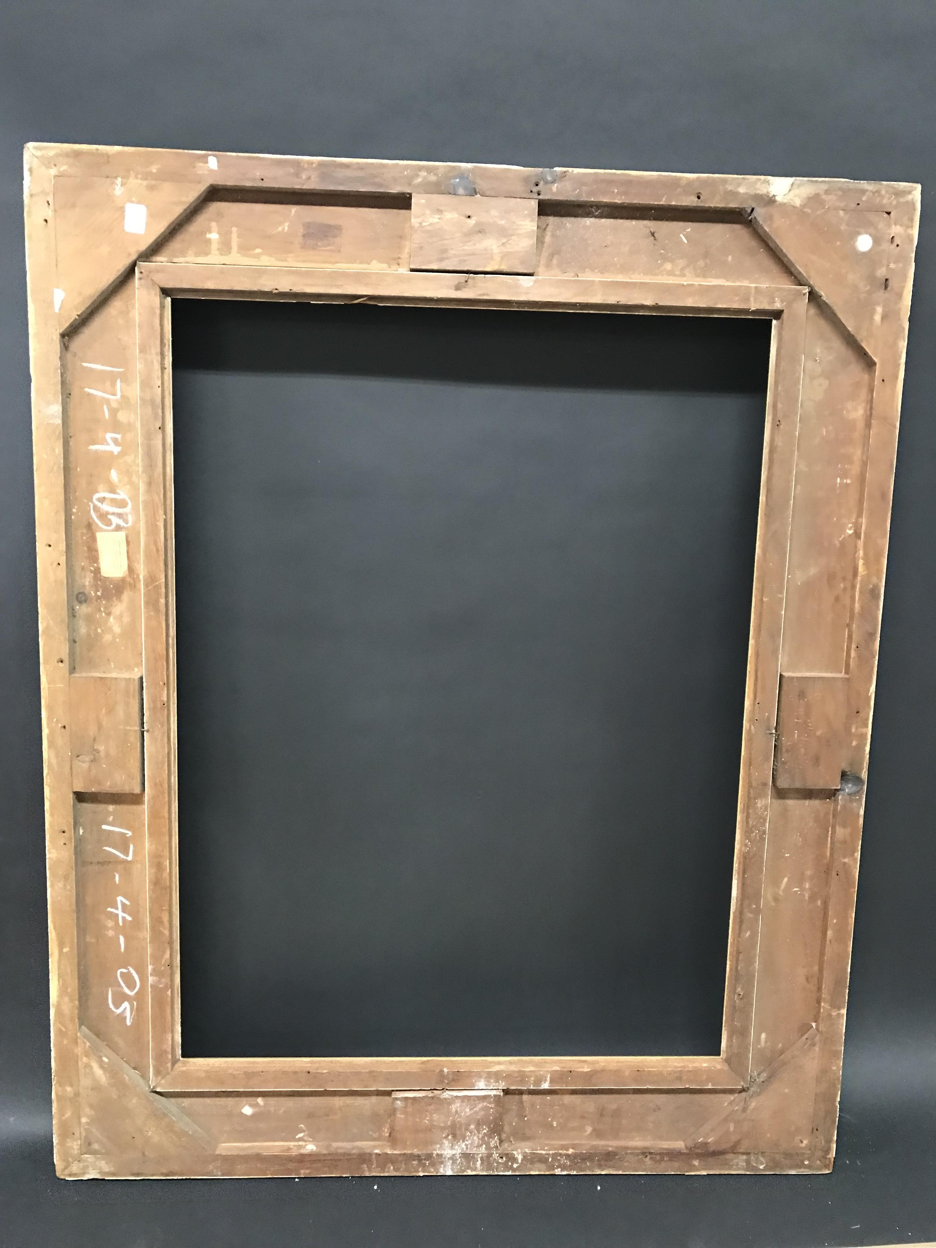 "Lot 9 - 19th Century English School. A Gilt Composition Frame, 40"" x 30"" (rebate)."