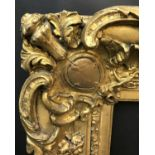 """Lot 6 - 19th Century English School. A Gilt Swept Centres and Corners Composition Frame, 35"""" x 25"""" ("""