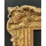 "Lot 56 - 19th Century English School. A Gilt Composition Frame, with Swept Centres and Corners, 46.75"" x 35."