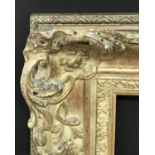 Lot 33 - 20th Century English School. A Gilt Composition Frame, with Swept and Pierced Centres and Corners,