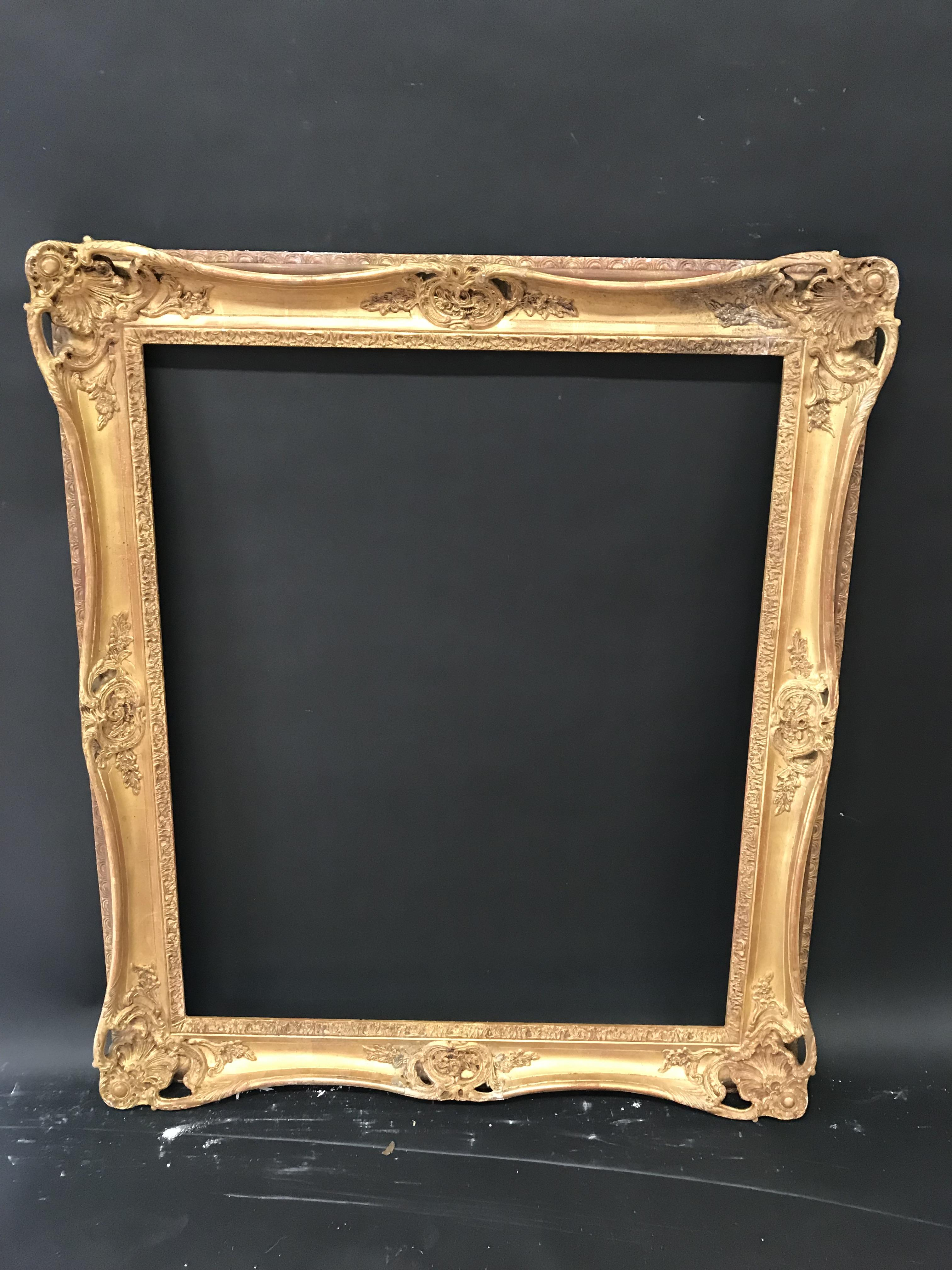 Lot 52 - 20th Century English School. A Continental Style Composition Frame, with Swept and Pierced Centres