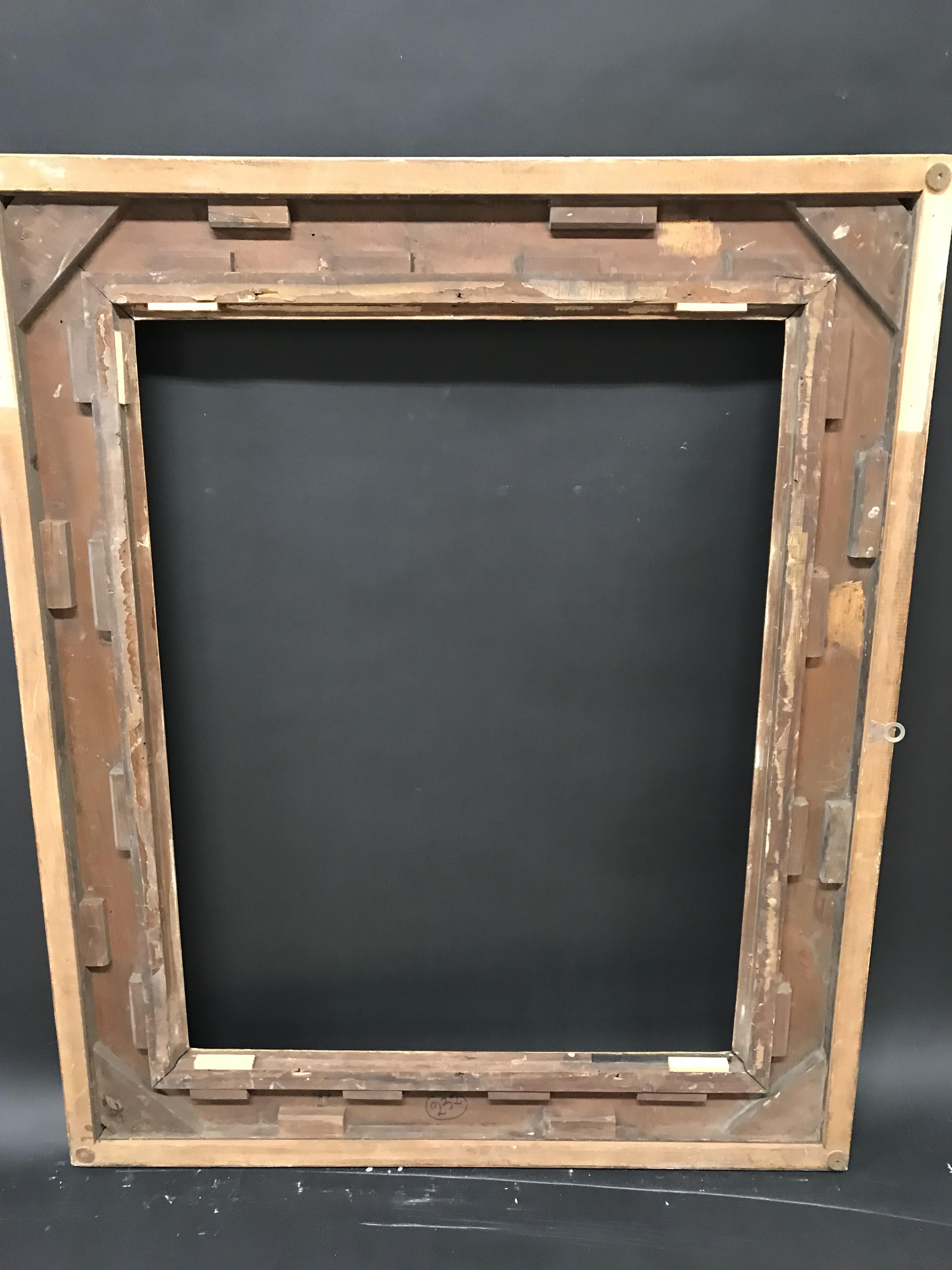 "Lot 27 - 19th Century English School. A Gilt Composition Frame, 36"" x 28"" (rebate)."