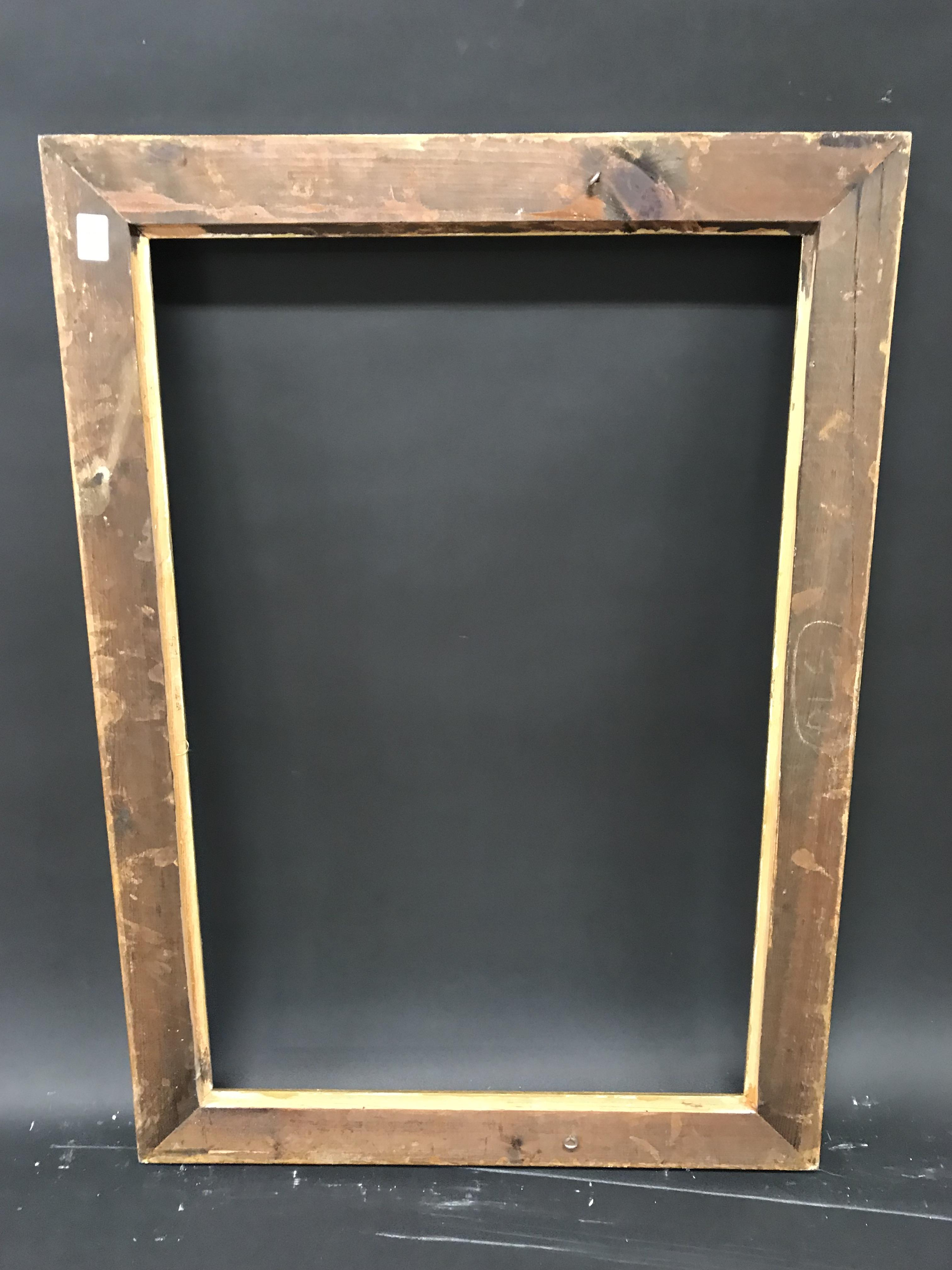 """Lot 22 - 20th Century English School. A Gilt Composition Frame, with Swept Centres and Corners, 30"""" x 20"""" ("""