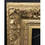 "Lot 54 - 19th Century French School. A Fine Gilt Composition Barbizon Frame, 16"" x 10"" (rebate)."