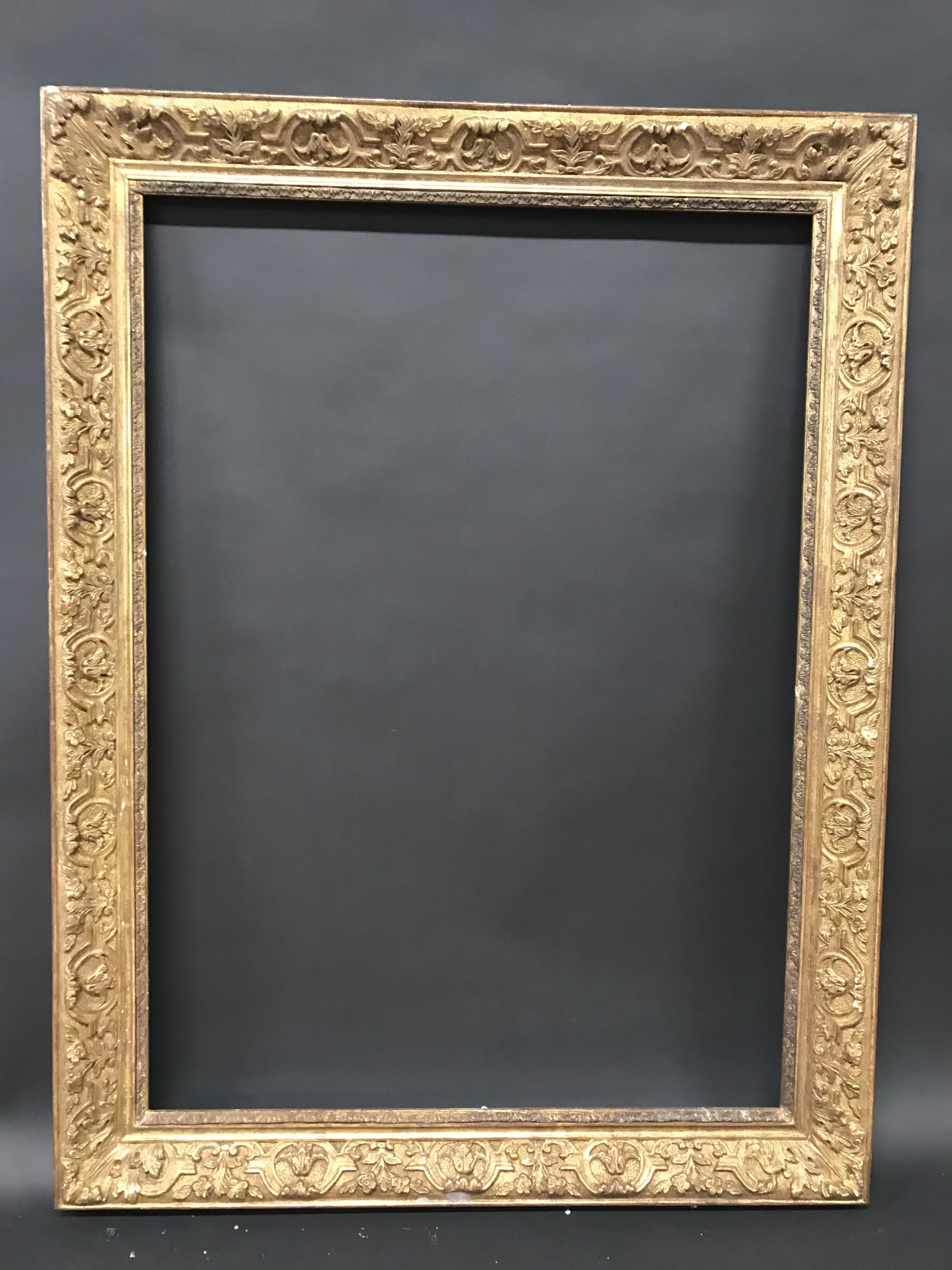 """Lot 2 - 20th Century English School. A Gilt Composition Frame, A French Style Composition Frame, 38"""" x 27.5"""""""