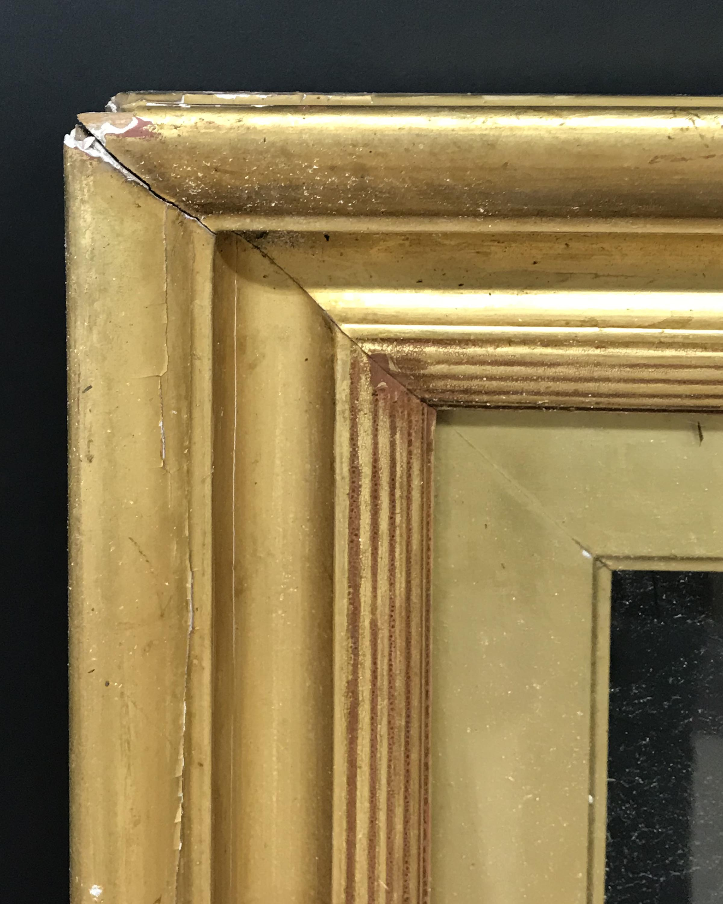 """Lot 20 - 19th Century English School. A Gilt Composition Frame, with Inset Glass, 30.25"""" x 20"""" (rebate)."""