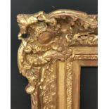 """Lot 57 - 19th Century English School. A Gilt Composition Frame, with Swept Centres and Corners, 45.75"""" x 35."""