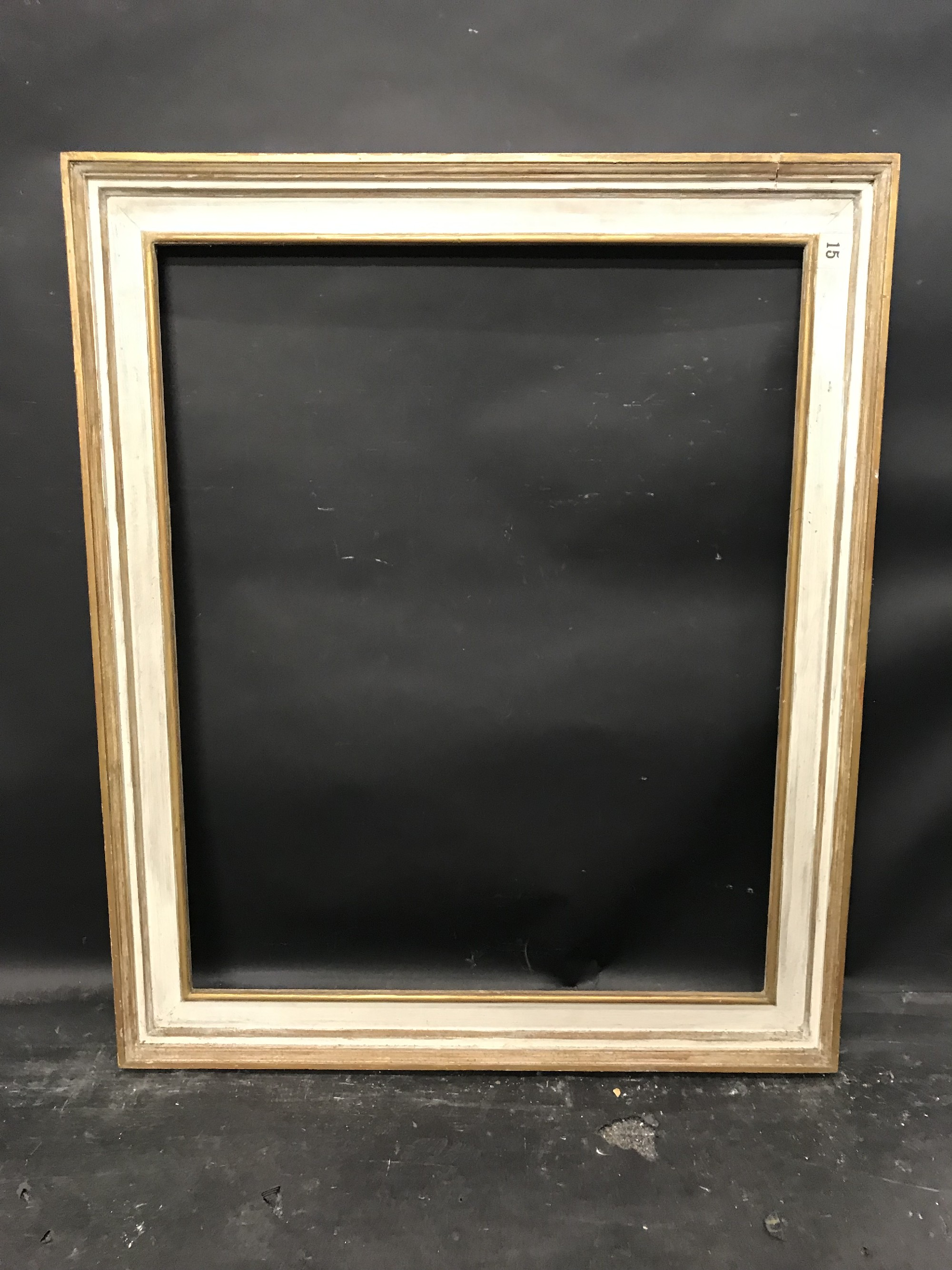 "Lot 30 - 20th Century English School. A Painted Frame, 31"" x 25""."