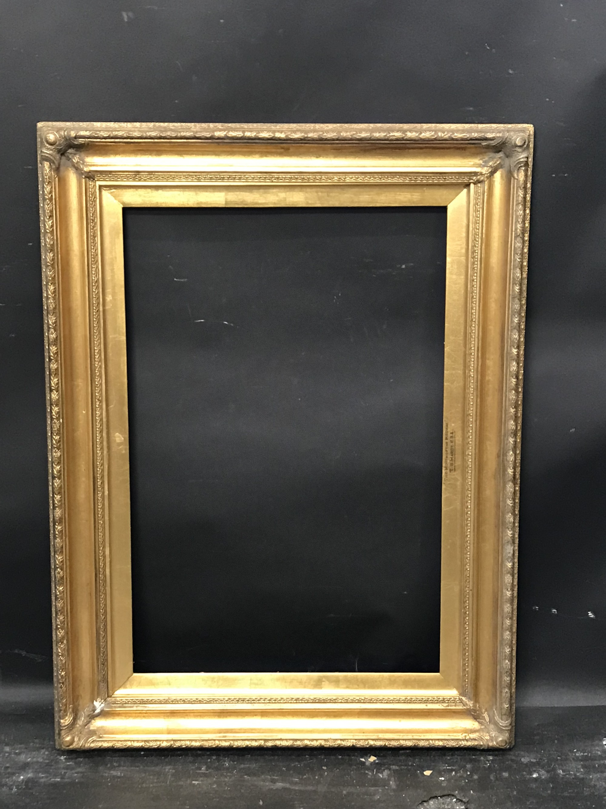 "Lot 25 - 19th Century English School. A Gilt Composition Frame, 24"" x 16""."