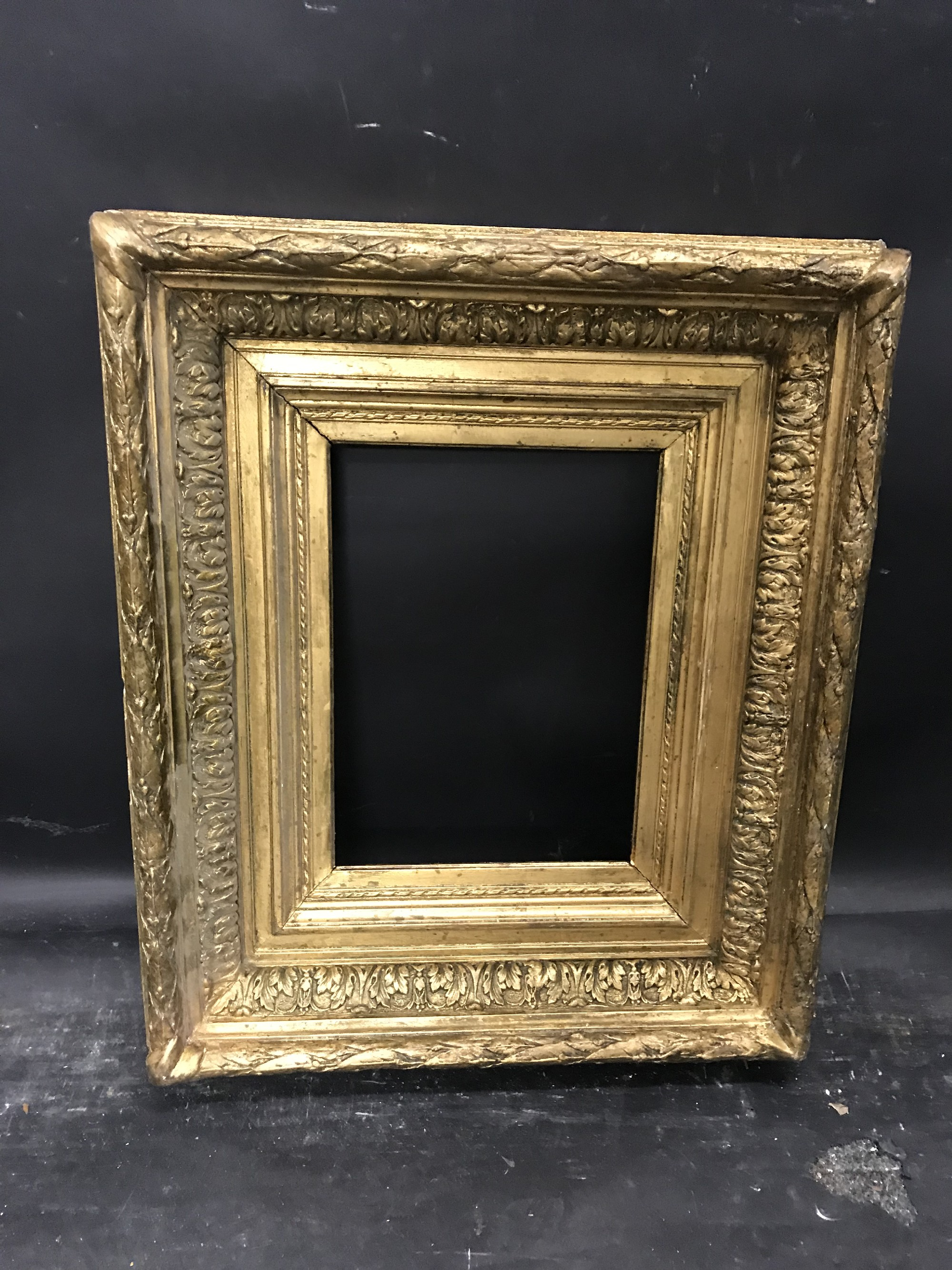 "Lot 50 - 19th Century English School. A Gilt Composition Frame, 11"" x 8""."