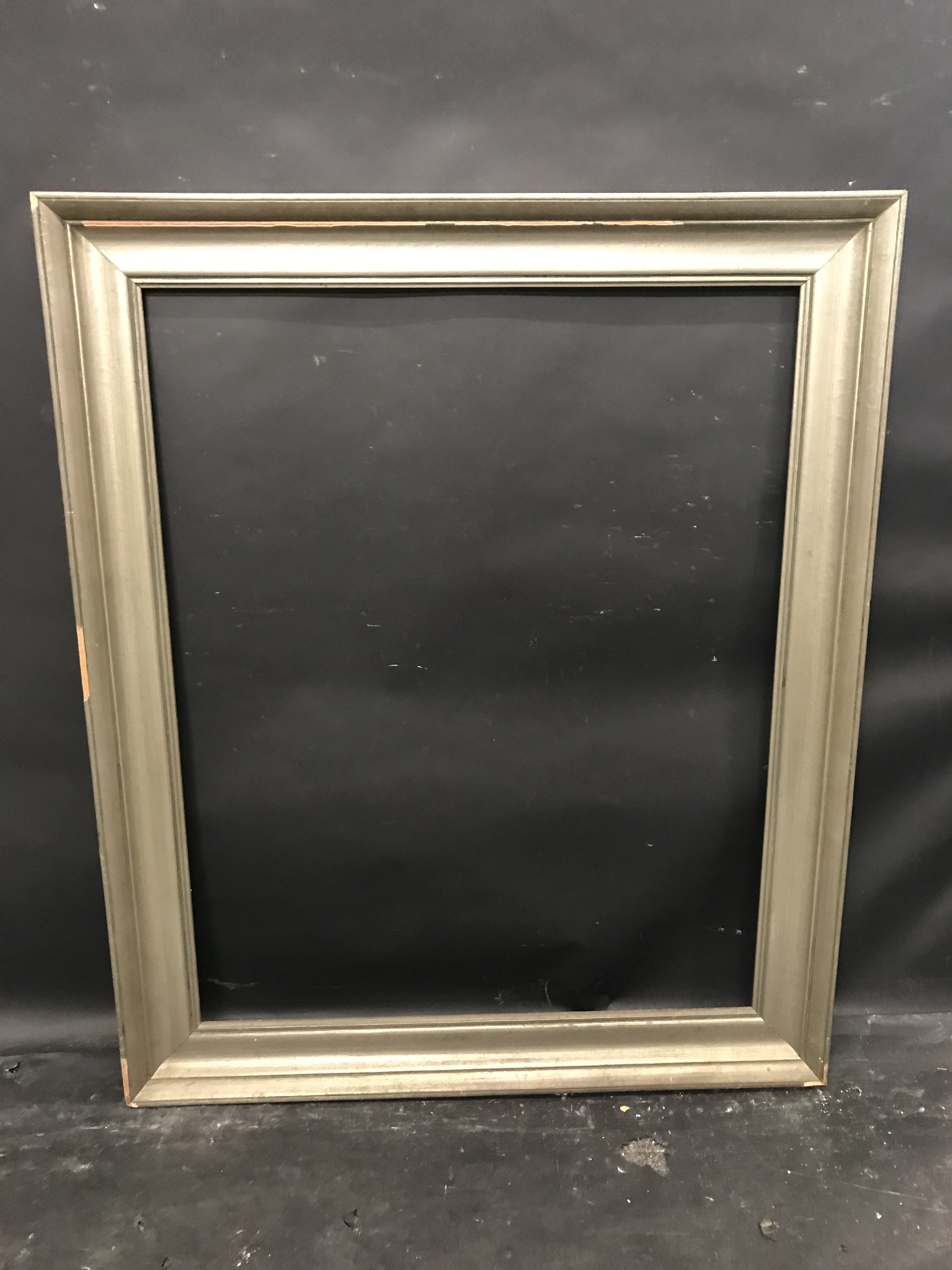 """Lot 24 - 20th Century Continental School. A Painted Silver Frame, 35.5"""" x 28.5""""."""