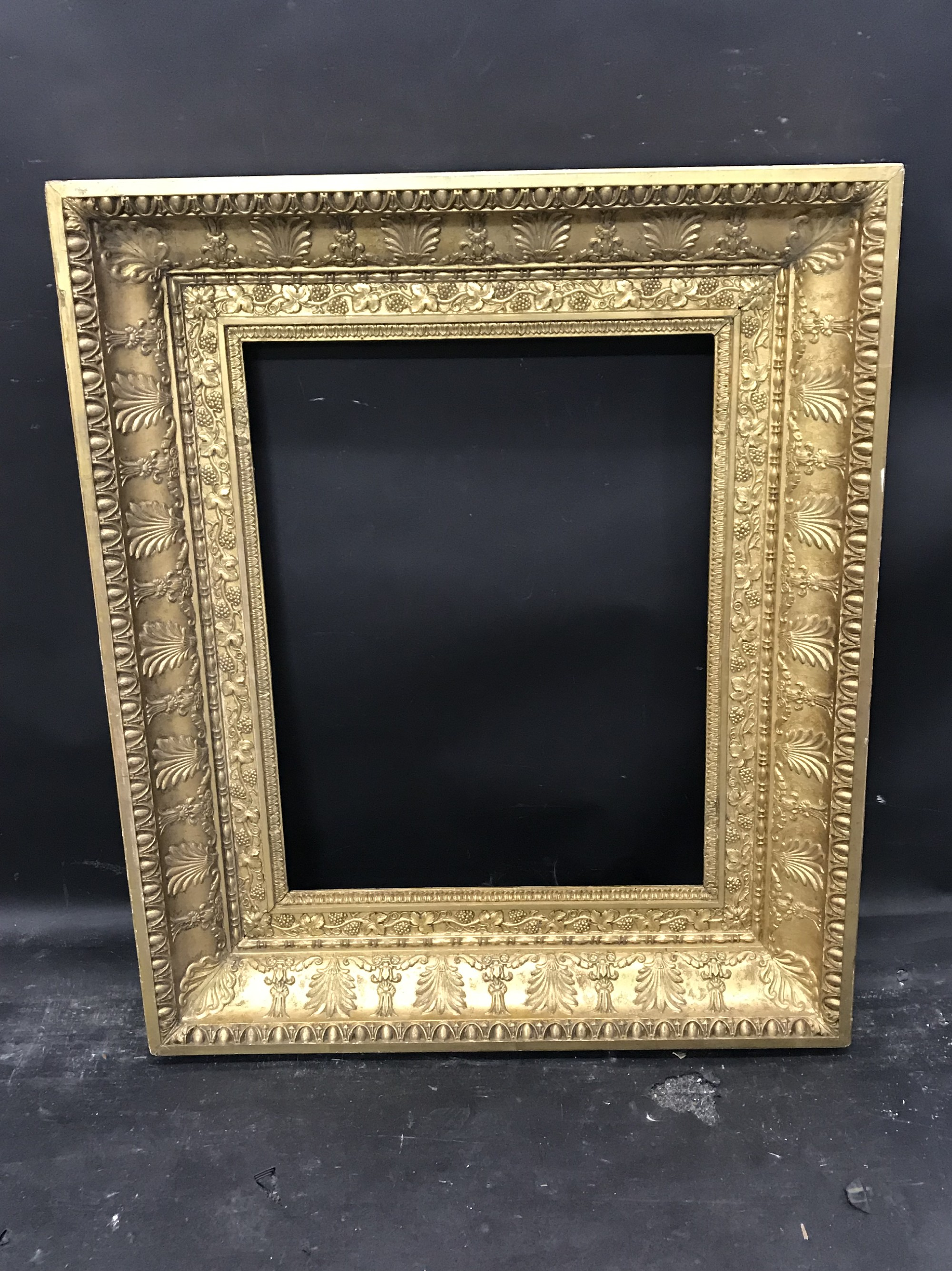 "Lot 47 - 19th Century French School. An Empire Style Frame, 19.5"" x 15.25""."